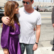 Paula Abdul and Simon Cowell - Stock Photo