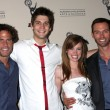 Foto Stock: Shawn Christian, Casey Dedrick, Molly Burnett, and Eric Martsolf