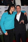Michael Steger & Rob Estes — 图库照片