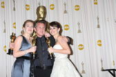 Kate Winslet, Sean Penn, and Penelope Cruz — Stock Photo