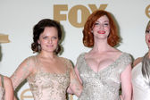 Elisabeth Moss, Christina Hendricks — Stock Photo