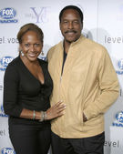 Dave Winfield & Wife — Stock Photo