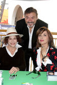 Louise Sorel, Joe Mascolo, Lauren Koslow — Stock Photo