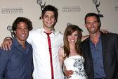 Shawn Christian, Casey Dedrick, Molly Burnett, and Eric Martsolf — Stock Photo