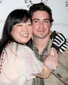 Margaret Cho & Ben Feldman — Foto de Stock