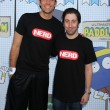 Zachary Levi, Simon Helberg — Stock Photo