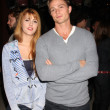 Yvonne Zima and Wilson Bethel — Foto de Stock