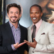 Robert Downey Jr & Jamie Foxx — Stock Photo #12912350