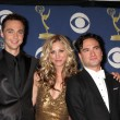 Постер, плакат: Jim Parsons Kaley Cuoco & Johnny Galecki