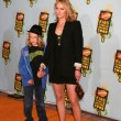 Amber Valetta and Son - Stock Photo