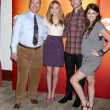 Stock Photo: Larry Miller, MeaghMartin, EthPeck, and Lindsey Shaw