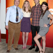Larry Miller, Meaghan Martin, Ethan Peck, and Lindsey Shaw — Stock Photo #12917336