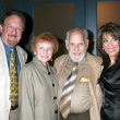 Kate Linder, with her parents and husband Ron — Foto Stock
