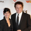 John C Reilly, Wife - Stock Photo
