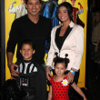Stock Photo: Mario Lopez, nephew, niece