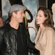 Brad Pitt and AngelinJolie — Stock Photo #12917768