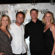 Stock Photo: Chris Harrison & Wife, Brooks Douglass & Wife