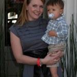 Melissa Joan Hart & son Braydon Hart Wilkerson — Stock Photo #12919686