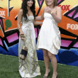 Vanessa Hudgens and Kelly Clarkson - Stock Photo