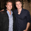 Billy Miller & Thad Luckinbill - Stock Photo