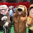 Carl Fredricksen, Dug, and Russell - Stock Photo