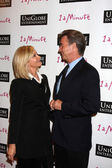 Olivia Newton-John, Husband John Easterling — Stock Photo