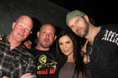 Derek Mears, GUest, Christa Campbell, Tyler Mane — Stock Photo