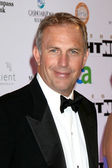 Kevin Costner & Wife Christine — Stock Photo