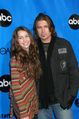 Miley & Billy Ray Cyrus — Foto Stock