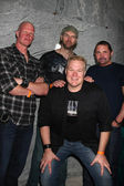Derek Mears, Tyler Mane, Kane Hodder, Tim Sullivan (In Front) — Stock Photo