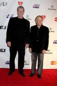 Brian Wilson and Alan Jardine — Stock Photo