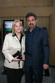 Joe Mantegna & Wife — Stock Photo