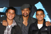 Cuba Gooding Jr & Sons — Stock Photo