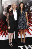 Rumer Willis, Bruce Willis, & Emma Heming — Stock Photo