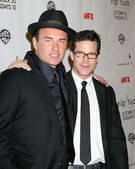 Julian McMahon & Dylan Walsh — Stock Photo
