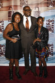 Forest Whitaker, daughters Sonnet Noel Whitaker and True Whitaker — Stock Photo