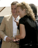 Matt Damon & publicist Jennifer Allen — Stock Photo
