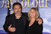 Joe Mascolo & Wife Pat — Stock Photo