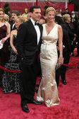 Steve Carrell & Wife — Stock Photo