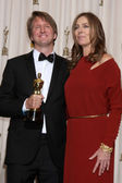 Tom Hooper, Kathryn Bigelow — Stockfoto