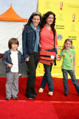 Tricia leigh fisher, son, joely fisher, skylar — Stockfoto