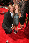 Roger Howarth & Daughter — Stock Photo
