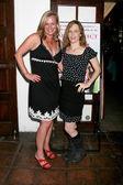 Sarah Kelly And Sarah Clarke — Stock Photo