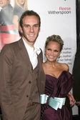 Charlie McDowell & Kristin Chenoweth — Stock Photo
