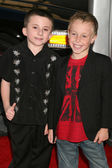 Atticus Shaffer & Jae Head — Stock Photo
