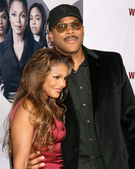 Tyler Perry & Janet Jackson — Stock Photo