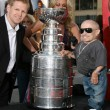 Chris Osgood of the Detroit Redwings, with the Stanley Cup. and - Stock Photo