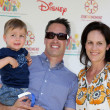 Постер, плакат: Annabeth Gish & husband and son