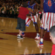 Big Easy, Rico Rodriguez, and Flight Time, Globetrotters - Stock Photo