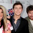 Lauren Alaina, Scotty McCreery, Casey Abrams — Stock Photo #12925103